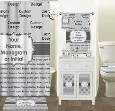 Custom Bathroom Shower Curtains Personalized Shower Curtain Potty Concepts