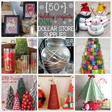 50 creative dollar store holiday craft ideas