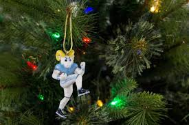 unc rameses the ram mascot ornament zverse 3d printed licensed