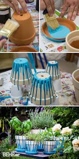 by mixing your two favorite hobbies gardening with crafting you