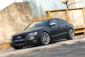 matte audi s5 audi s5 sportback tuned to 446 bhp by senner