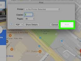 Google Maps Driving Directions Usa by 4 Easy Ways To Print Google Maps With Pictures Wikihow