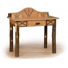 Writing Desk For Kids Noble Rustic Hickory Wood Writing Desk Hoot Judkins Furnituresan