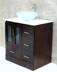 Glass Bathroom Sinks And Vanities Bowl Bathroom Sink Great Galvanized Vessel Sink Rustic