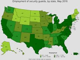 Average Rent By State Security Guards
