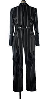 nightmare before skellington suit stripe