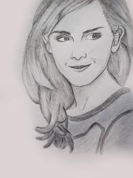 pictures emma watson sketch easy drawing art gallery