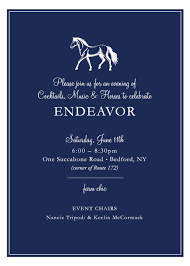 endeavor cocktail party u2014 endeavor therapeutic horsemanship