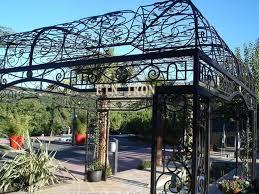 tettoia ferro battuto pensiline in ferro battuto pergole tettoie giardino
