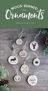 80 best christmas ornaments you can make images on pinterest