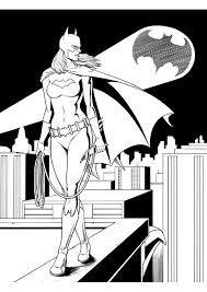 163 Best Coloring Pages Images On Pinterest Colouring Pages Batgirl And Supergirl Coloring Pages Printable