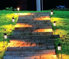 Malibu Led Landscape Lighting Kits Malibu Landscape Led Lighting 6 Pack Pathway Lights Solar Led