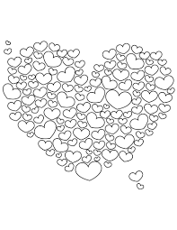 adults heart coloring pages lots love hearts heart coloring