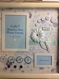 baby shadow box cudlie shadow box baby boy photo frame baby