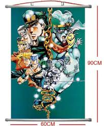 bizarre home decor home decor japanese wall poster scroll jojo jojo s bizarre adventure