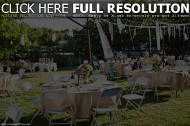 backyard wedding reception decorations on with decoration ideas