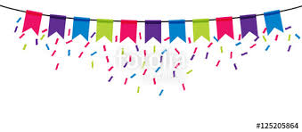 party banner party banner icon on transparent background stock image and