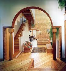 wooden arch designs bathroom traditional with freestanding