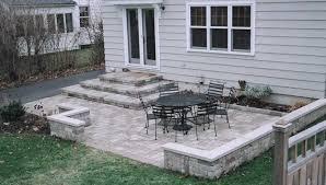 Ideas For Backyard Patios Backyard Cement Patio Ideas Free Home Decor