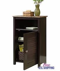 Cherry Bathroom Storage Cabinet by Bathroom Wooden Cabinet Free Standing Cherry Shelves Bath Storage