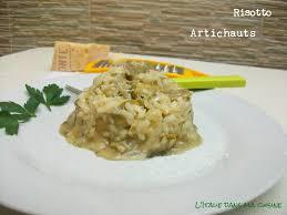 cuisiner des artichauts risotto aux artichauts l italie dans ma cuisine