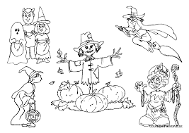 halloween coloring pages page for adults with very detailed