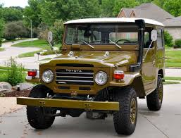 vintage toyota truck toyota land cruiser fj40 for sale bat auctions