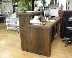 Reclaimed Wood Reception Desk Home Office Furniture Sets Amazon Design 25 Office Furniture Sets