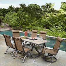 10 Piece Patio Furniture Set - furniture outdoor dining chairs home depot ty pennington