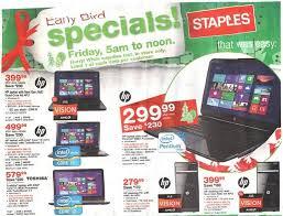 staples black friday 2012 ad leaks laptop desktop tablet pc
