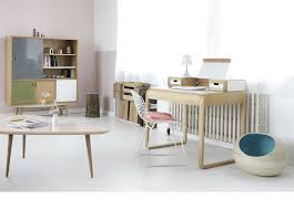mobilier design bureau bureau meuble design affordable plateau en finition f frne cendr