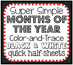 number names worksheets months of the year printables free