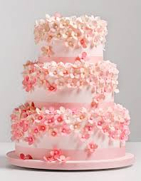 wedding cakes trend report pink wedding cakes