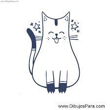 imágenes de gatos fáciles para dibujar dibujo de gato fácil para pintar dibujos de gatos para pintar