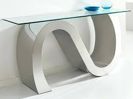 Glass Hallway Table Modern Console Tables New Ideas Glass Hallway Table