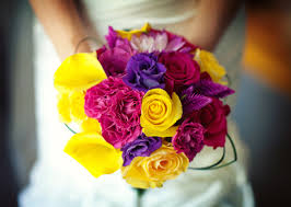 wedding flowers ottawa a colourful summer wedding in ottawa yellow bouquets bouquet