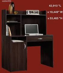 Sauder Computer Desk Cinnamon Cherry by 19 Charming Morgan Computer Desk With Hutch Image Designer