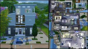home design modern house floor plans sims 4 transitional compact