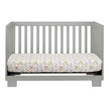 Babyletto Mercer 3 In 1 Convertible Crib With Toddler Rail by Babyletto Modo 3 In 1 Convertible Crib In Grey Free Shipping