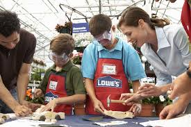 free kids workshops and clinics at lowes and home depot des