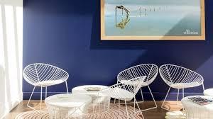chambre bleu nuit bleu déco peinture bleue bleu ciel bleu turquoise côté maison