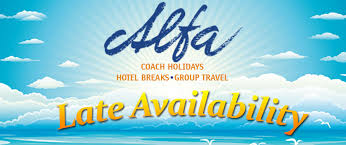 late availability deals alfa travel coach holidays