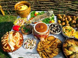 traditional cuisine specialties of food
