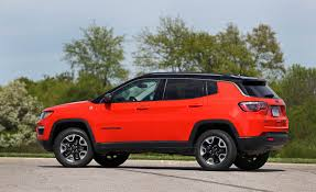 jeep compass 2016 interior 2017 jeep compass in depth model review car and driver