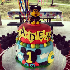 mickey mouse cake decorations from scratch all handmade and