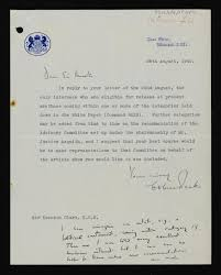 Uk Home Office by Letter To Kenneth Clark From Osbert Peake At The British Home