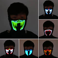 The Purge Mask Halloween Club by Online Buy Wholesale Halloween Led Mask From China Halloween Led