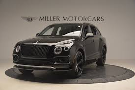 bentley suv 2018 2018 bentley bentayga black edition stock b1263 for sale near