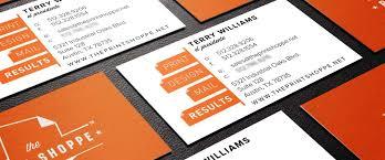 business card printing tx