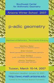 southwest center for arithmetic geometry aws 2007